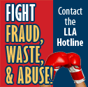 Reporting Fraud to the LLA Hotline